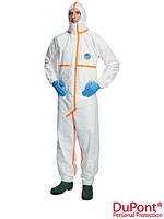 Легкий защитный костюм Tyvek® 800 J изготовлен из нетканого Tyvek® TYVEK-800J W