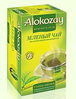 "Чай ""Alokozay"" зеленый 25 пак."