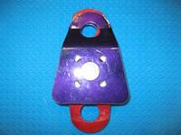 Блок-ролик двойной большой с подшипником 46 кН, фото 1