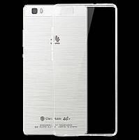 Чехол силиконовый Ультратонкий Epik для Huawei Ascend P8 Lite Прозрачный