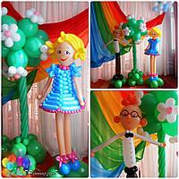 Фигуры и композиции из шаров