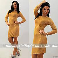 Платье женское облегающее
