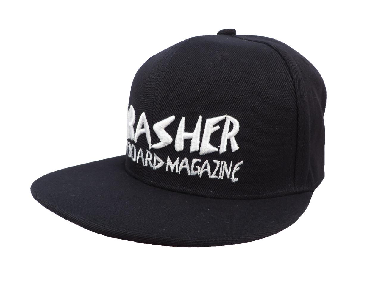 Черная кепка  Thrasher (реплика)