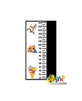 Детские ростометры меловые Винни Пух