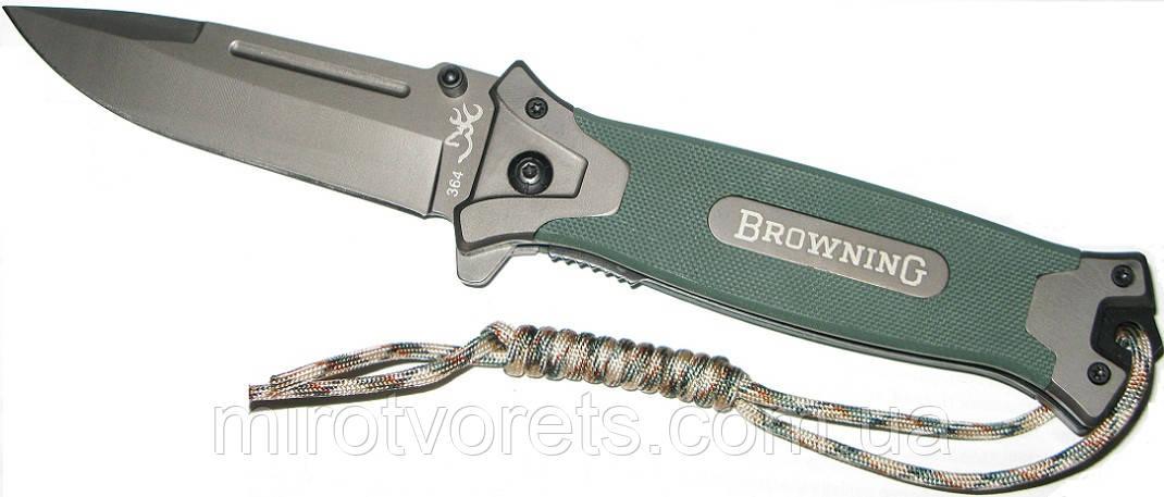Нож полуавтомат Browning 364 G10