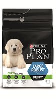 Корм для собак Pro Plan Puppy Large Breed Robust с комплексом optistart Курица с рисом 12 кг