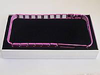 Бампер для Apple iPhone 5/5S, алюминиевый, браслет, Pink /чехол/кейс/case/защита /айфон