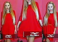 Свободное женское платье
