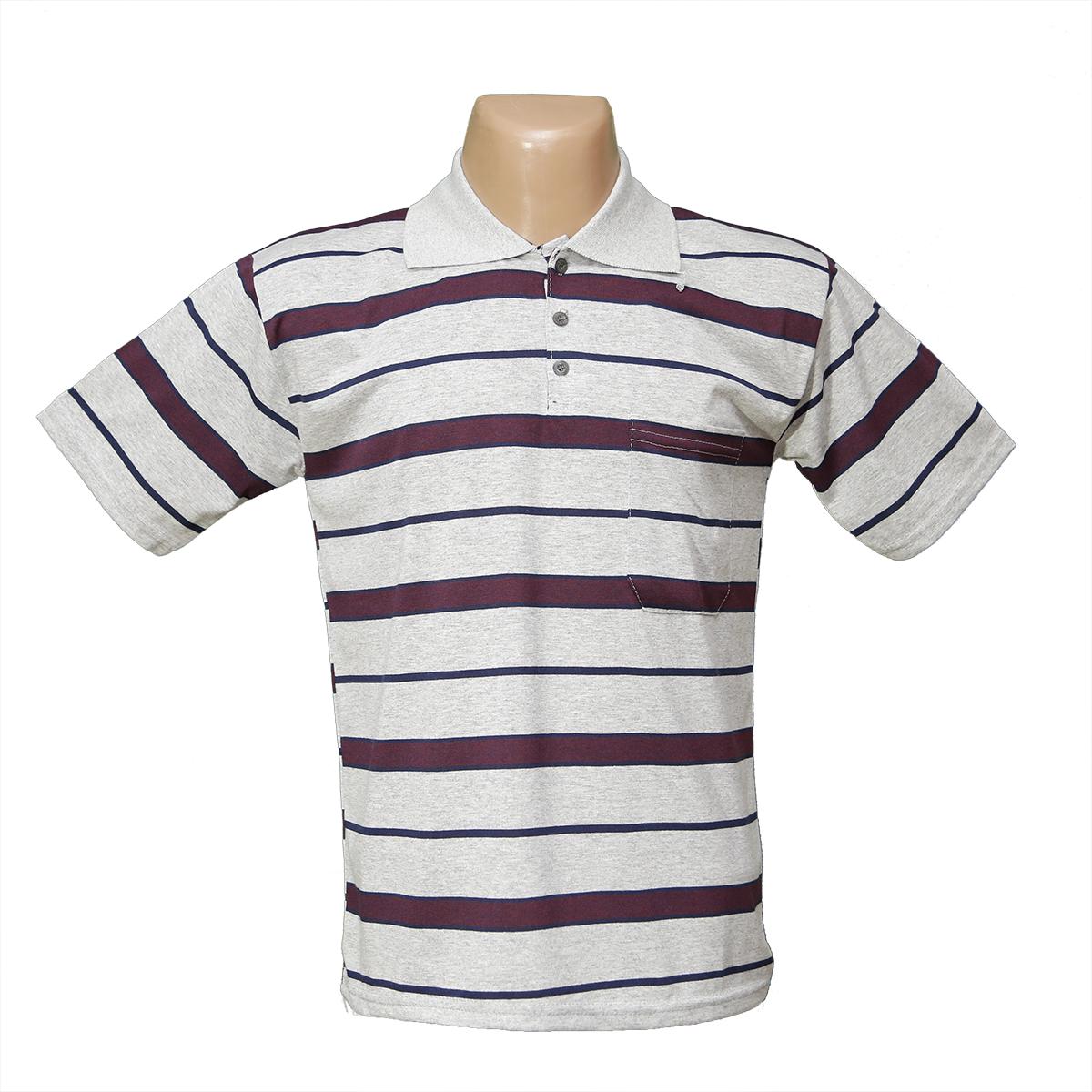 eec6956c746eb8d Мужская котоновая футболка Поло с карманом 623 оптом и в розницу ...
