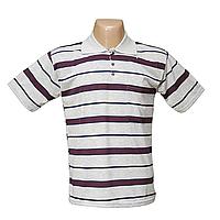 Мужская котоновая футболка Поло с карманом 623