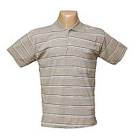 Мужская котоновая футболка Поло БАТАЛЫ 625