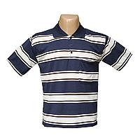 Мужская котоновая футболка Поло больших размеров 626
