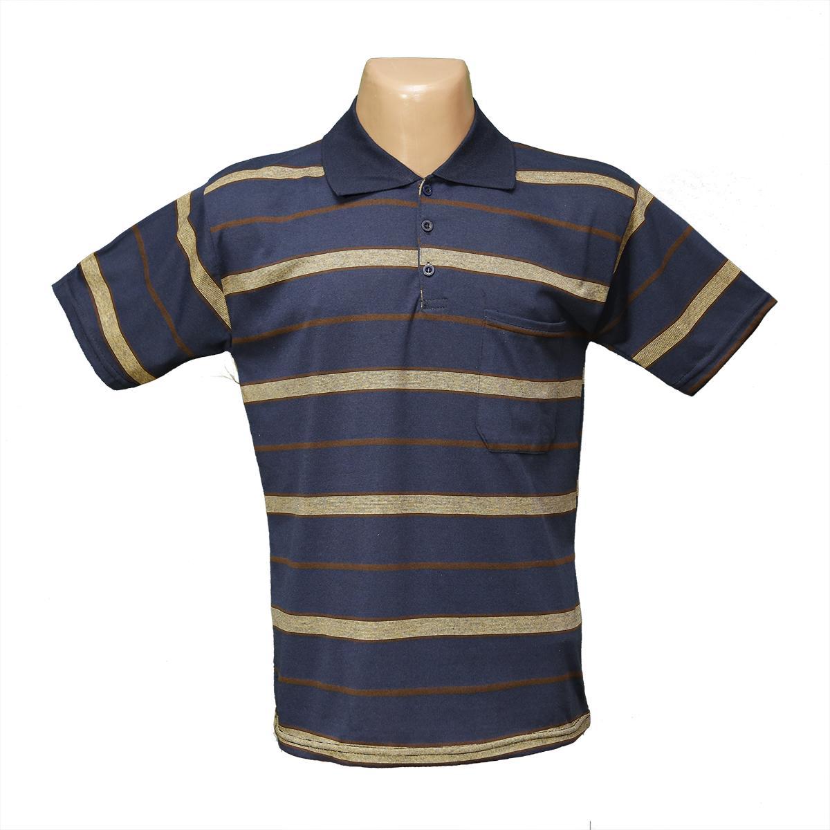 07f2f124fcbc871 Мужская котоновая футболка Поло БАТАЛЫ 628 оптом и в розницу ...