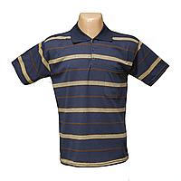 Мужская котоновая футболка Поло БАТАЛЫ 628