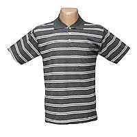 Мужская котоновая футболка Поло в полоску 632