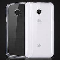 Чехол силиконовый Ультратонкий Epik для Huawei Ascend Y330 Прозрачный