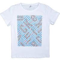Модная летняя футболка для мальчика