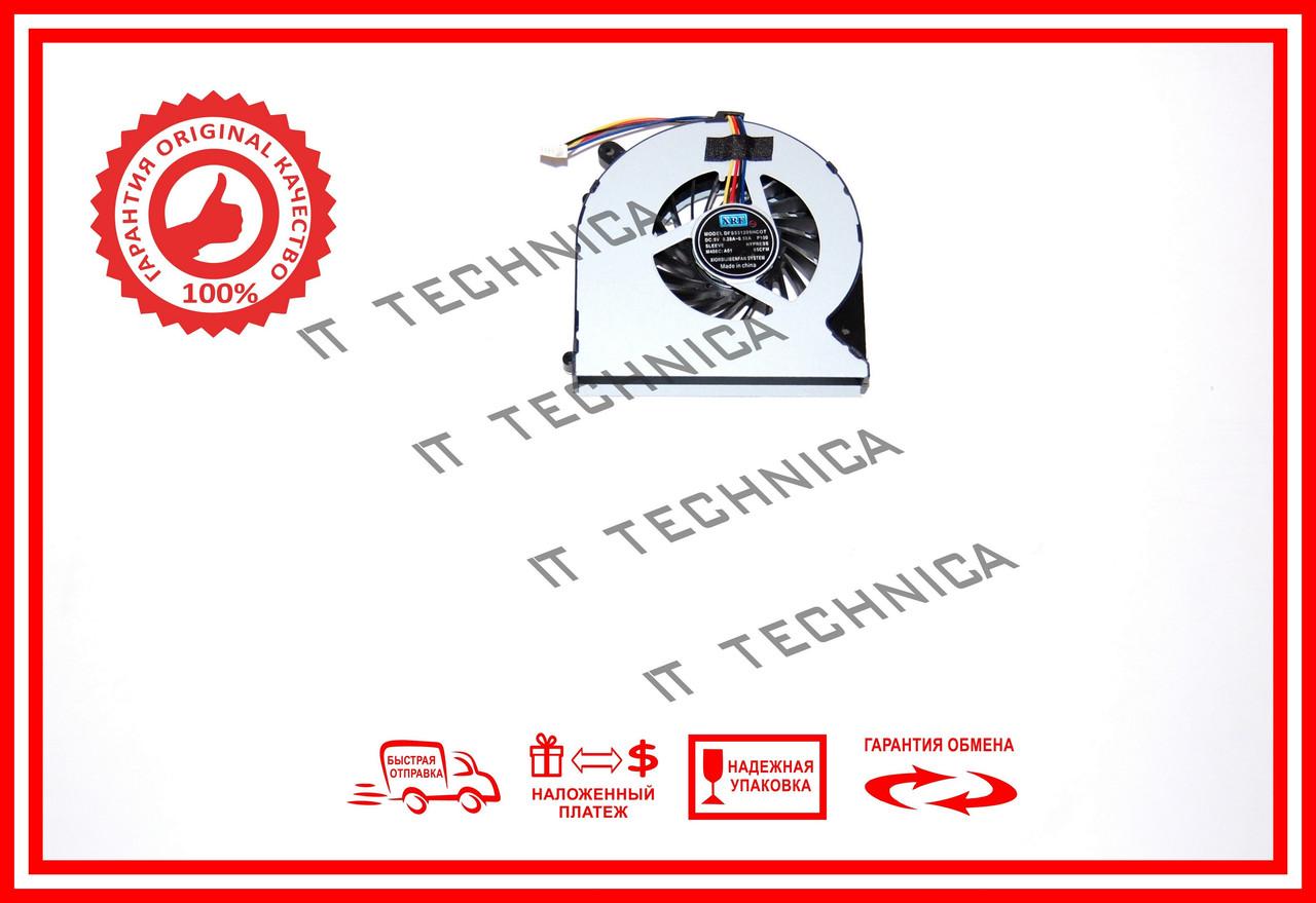 Вентилятор Toshiba C875 C870 4 pin Тип2