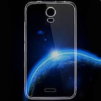 Чехол силиконовый Ультратонкий Epik для Huawei Ascend Y3C (Y336) Прозрачный