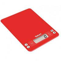 Весы кухонные SATURN ST-KS7235_Red