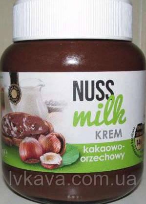 Шоколадно-ореховая паста Nuss Milk, 400 гр, фото 2