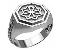 Кольцо серебряное Оберег Молвинец 30243