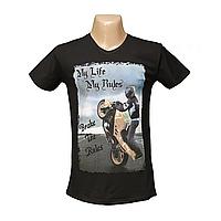Молодежная стрейчевая футболка Lycra пр-во Турция 2635