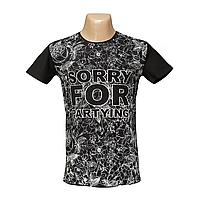 Мужская стрейчевая футболка Lycra SORRY 2636