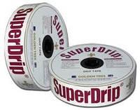 Капельная лента SuperDrip 8 mil 20 см 3,3 л/ч 1000 м, фото 1