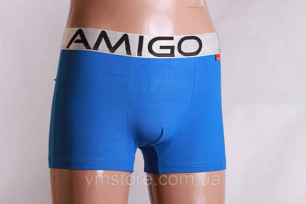 Трусы мужские, бамбуковые Амиго, яркие цвета, 9028