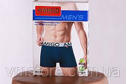 Трусы мужские, бамбуковые Амиго, яркие цвета, 9028, фото 3