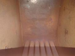 Твердотопливный котел длительного горения мощностью 31 кВт САН РТ камера сгорания