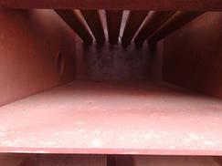Твердотопливный котел длительного горения мощностью 31 кВт САН РТ зольная часть котла