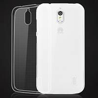 Чехол силиконовый Ультратонкий Epik для Huawei Ascend Y625 Прозрачный