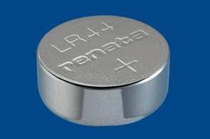 Дискова батарейка RENATA Alkalne 1,5 V LR44 (115mAH)
