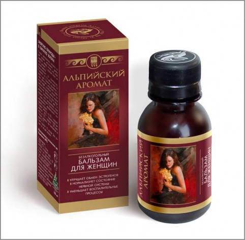 Альпийский аромат, бальзам - способствует восстановлению естественного уровня эстрогенов в организме женщины, фото 2
