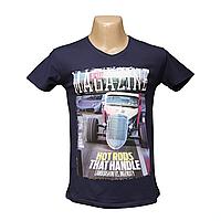 Мужская стрейчевая футболка Lycra оптом в Одессе  2641