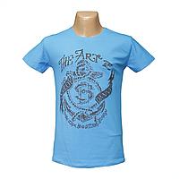 """Мужская стрейчевая футболка Lycra """"The Art""""  2642"""