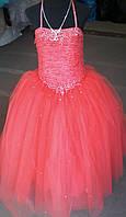 Платье праздничное Королева ,возраст 7-10 лет,цвета разные S214
