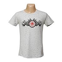 Мужская стрейчевая футболка Lycra оптом  2645