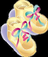 Пинетки - первая обувь малыша