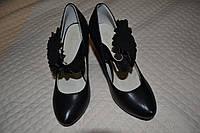 Туфельки на каблучке  37 размер, фото 1