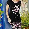 Красивая пижама с лосинами недорого