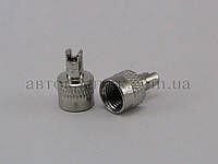 Колпачок-ключ вентиля камеры металлический