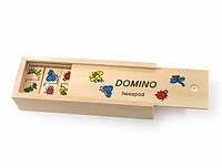 Деревянная игрушка Домино Природа