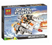 Конструктор Bela 10361 аналог LEGO Star Wars Снеговой спидер 97 деталей