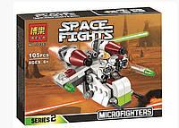 Конструктор Bela 10363 аналог LEGO Star Wars Республиканский истребитель 105 деталей