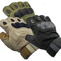 Перчатки защитные тактические Oakley беспалые