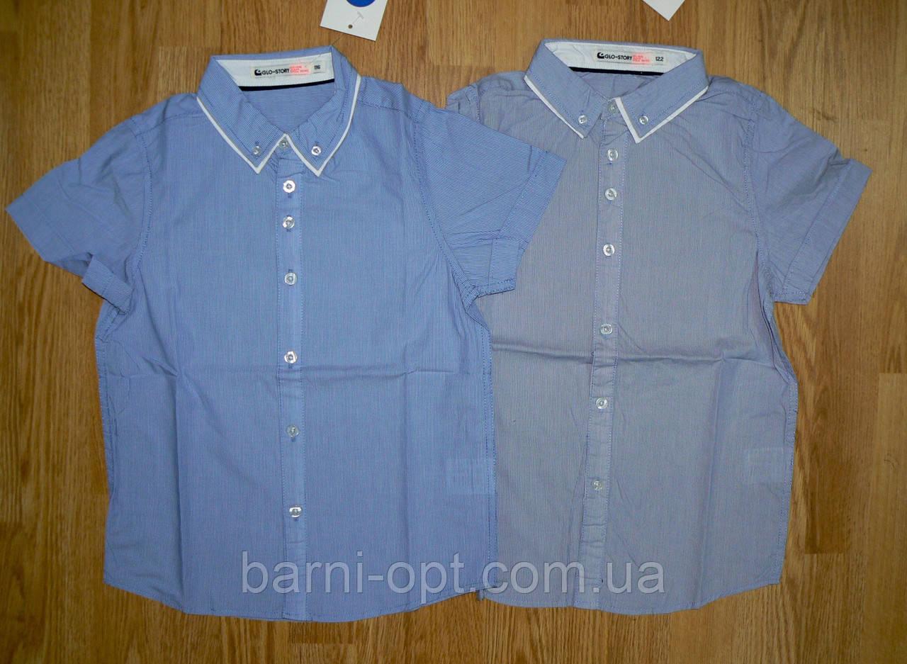 Рубашки на мальчика оптом, Glo-story, 98, 104 р