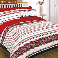 12175 красный постельное белье Вилюта ранфорс